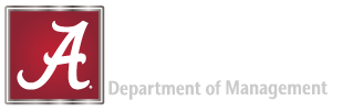 Department of Management at the Culverhouse College of Business